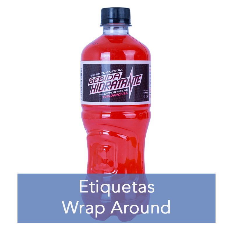 Etiquetas Wrap Around