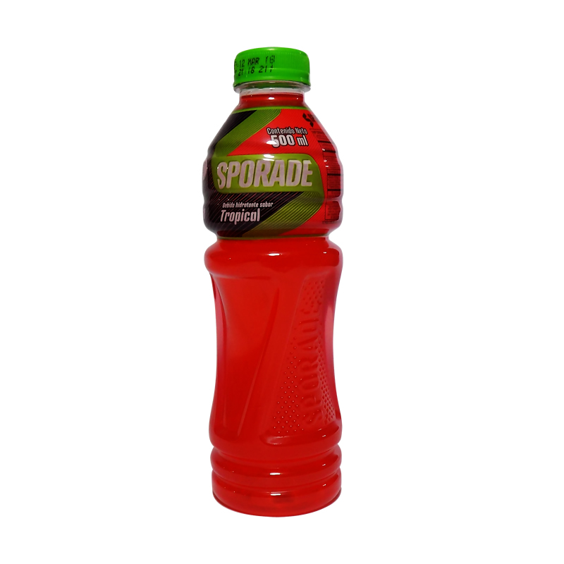 etiquetas termoencogibles sporade tropical 400 ml 2017